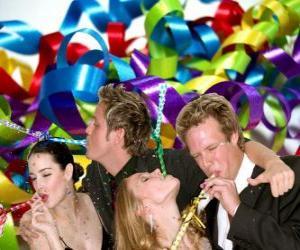 Puzzle de Fiesta de Año Nuevo