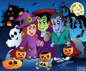 Puzzle de Fiesta de Halloween