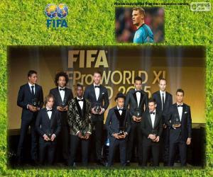 Puzzle de FIFA/FIFPro World XI 2015