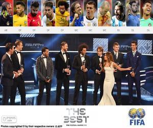 Puzzle de FIFA/FIFPro World11 2016