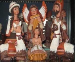 Puzzle de Figuras de cerámica del Perú
