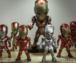 Puzzle de Figuras de Iron Man