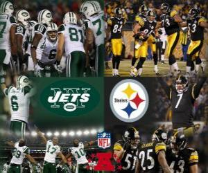 Puzzle de Final campeonato de la AFC 2010-11, New York Jets vs Pittsburgh Steelers
