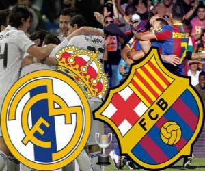 Puzzle de Final Copa del Rey 2010-11, Real Madrid - FC Barcelona
