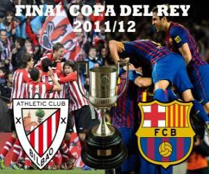 Puzzle de Final Copa del Rey 2011-12, Athletic Club de Bilbao - FC Barcelona