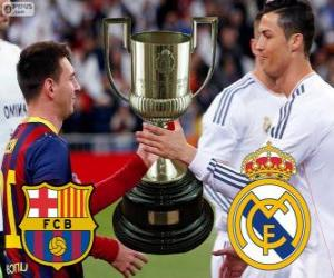 Puzzle de Final Copa del Rey 2013-14, F.C Barcelona - Real Madrid