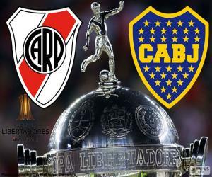 Puzzle de Final Copa Libertadores 2018