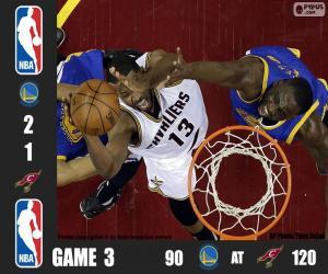 Puzzle de Finales NBA 16, 3er Partido