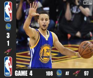 Puzzle de Finales NBA 16, 4º Partido