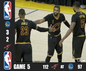 Puzzle de Finales NBA 16, 5º Partido