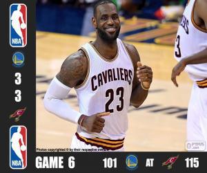 Puzzle de Finales NBA 16, 6º Partido