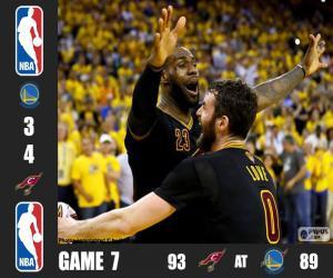 Puzzle de Finales NBA 16, 7º Partido