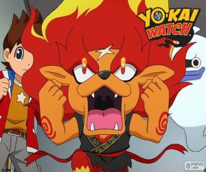 Puzzle de Flamileón, Yo-Kai Watch