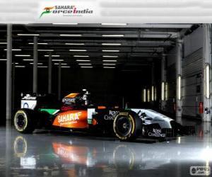 Puzzle de Force India VJM 07 - 2014 -