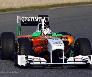 Puzzle de Force India VJM04 - 2011 -