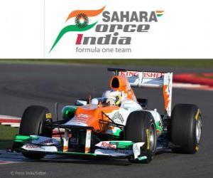 Puzzle de Force India VJM05 - 2012 -