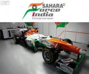 Puzzle de Force India VJM06 - 2013 -