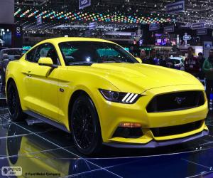 Puzzle de Ford Mustang 2015