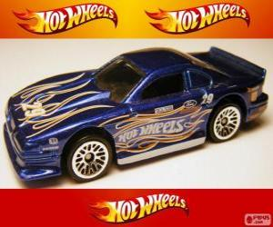 Puzzle de Ford Mustang Cobra, de Hot Wheels