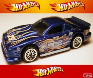 Puzzle de Ford Mustang Cobra, de Hot Wheels