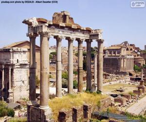 Puzzle de Foro Romano, Roma