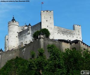 Puzzle de Fortaleza de Hohensalzburg