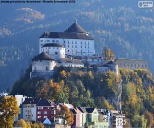 Puzzle de Fortaleza de Kufstein, Austria