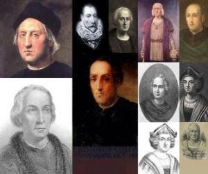 Puzzle de Fotos de Cristóbal Colón era el almirante al mando de la expedición que llegó a tierras americana el 1492