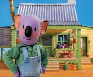 Puzzle de Frank es uno de los hermanos koala australianos
