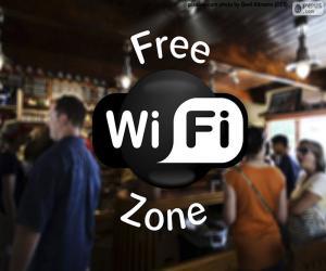 Puzzle de Free wifi zone