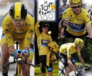 Puzzle de Froome Tour de Francia 2013