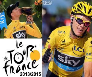 Puzzle de Froome Tour de Francia 2015