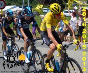 Puzzle de Froome Tour de Francia 2016