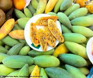 Puzzle de Frutos de curuba