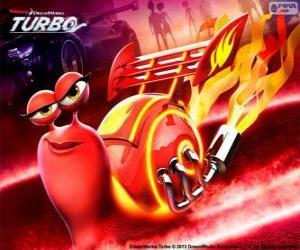 Puzzle de Fuego, la caracol de carreras