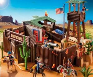 Puzzle de Fuerte de Playmobil