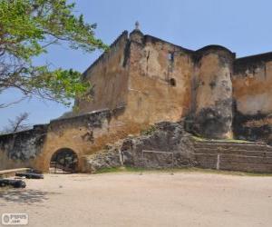 Puzzle de Fuerte Jesús, fuerte portugués ubicado en Mombasa (Kenia)