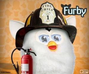 Puzzle de Furby bombero