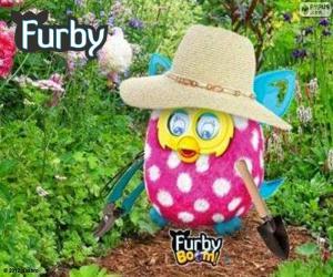 Puzzle de Furby jardinero