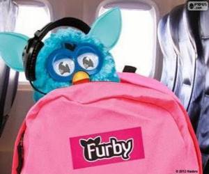 Puzzle de Furby se va de vacaciones
