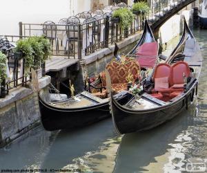 Puzzle de Góndolas de Venecia