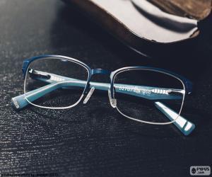 Puzzle de Gafas azules