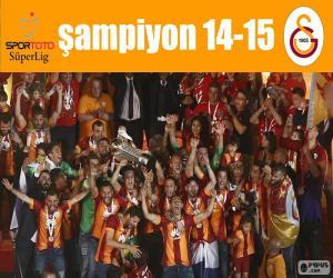 Puzzle de Galatasaray, campeón 14-15