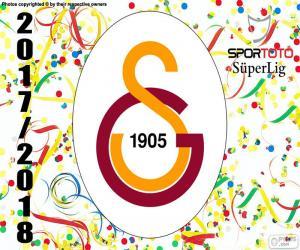 Puzzle de Galatasaray, Süper Lig 2017-2018
