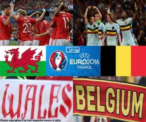 Puzzle de Gales-BE, cuartos Euro 2016