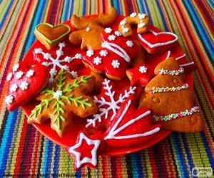 Puzzle de Galletas de Navidad caseras