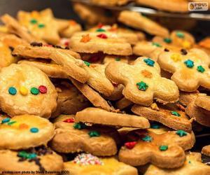 Puzzle de Galletas decoradas, Navidad