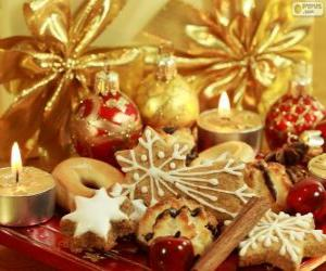 Puzzle de Galletas para Navidad