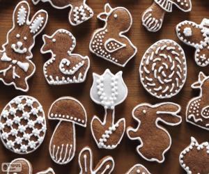 Puzzle de Galletas para Pascua