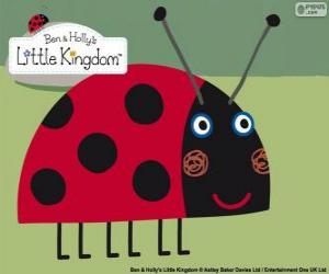 Puzzle de Gaston la mariquita, el mejor amigo insecto de Ben y Holly